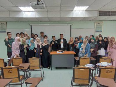 Sesi perkongsian bersama Prof. Dr. Ida Madieha Abdul Ghani Azmi dan para pelajar dari Universiti Islam Antarabangsa (UIA) 1