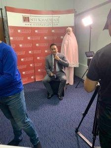 Hafiz Zubir Invited by TV3 999 3